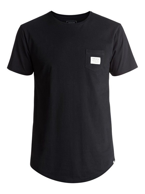 0 Scallop East Woven Tee Black EQYZT04555 Quiksilver