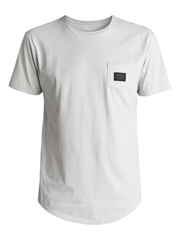 0 Scallop East Woven Tee Grey EQYZT04555 Quiksilver