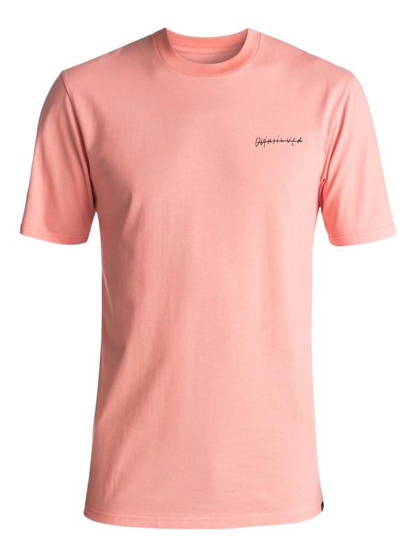 0 Men's Paradise Awaits Tee Pink EQYZT04591 Quiksilver