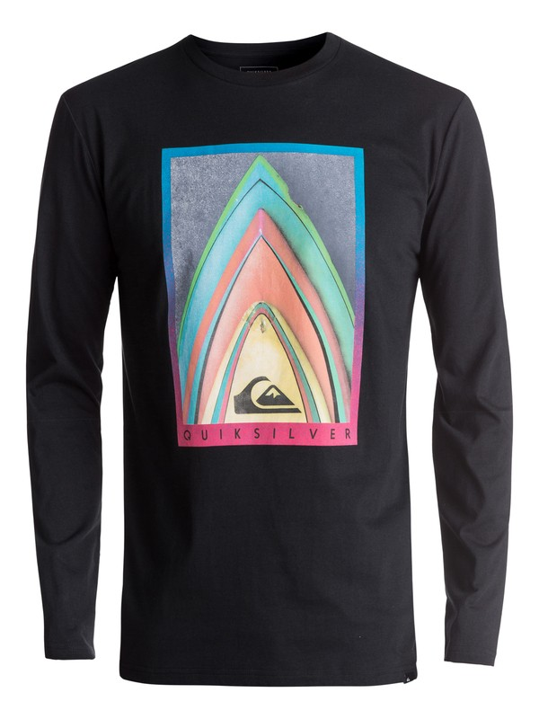 0 Classic Stacked - T Shirt à manches longues  EQYZT04603 Quiksilver