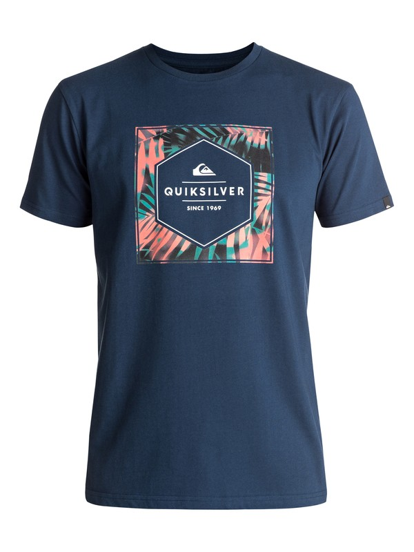 0 Shady Hex - Tee-Shirt  EQYZT04707 Quiksilver