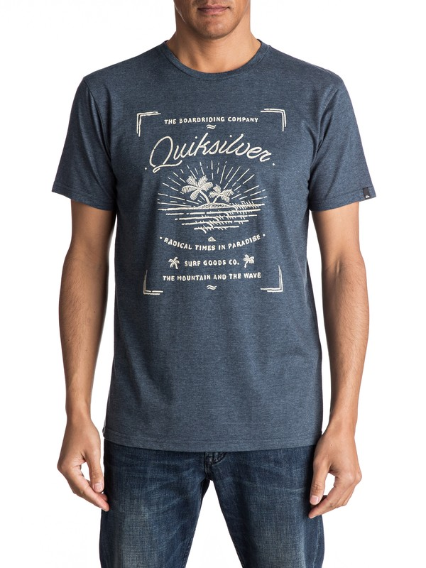 0 Line Up And Down - Tee-Shirt  EQYZT04708 Quiksilver