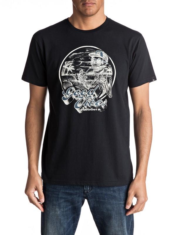 0 Vibes - Tee-Shirt  EQYZT04711 Quiksilver