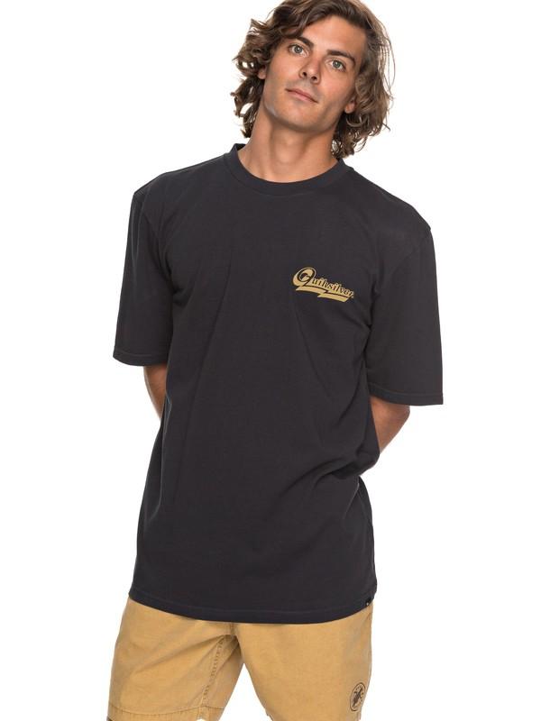 0 Hood Loves - T-Shirt Black EQYZT04736 Quiksilver