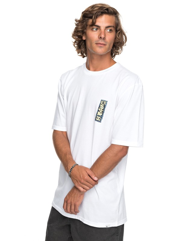 0 Framers Up Tee White EQYZT04737 Quiksilver