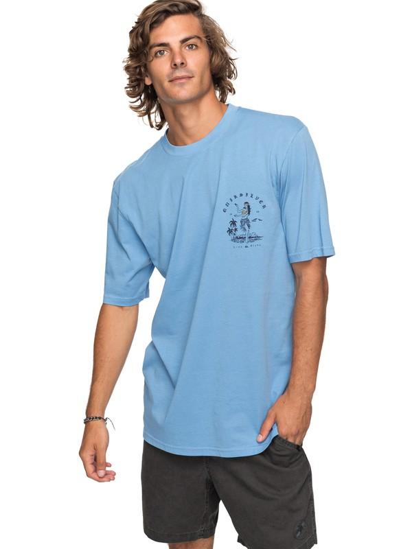 0 Curve Love - T Shirt col rond Bleu EQYZT04738 Quiksilver