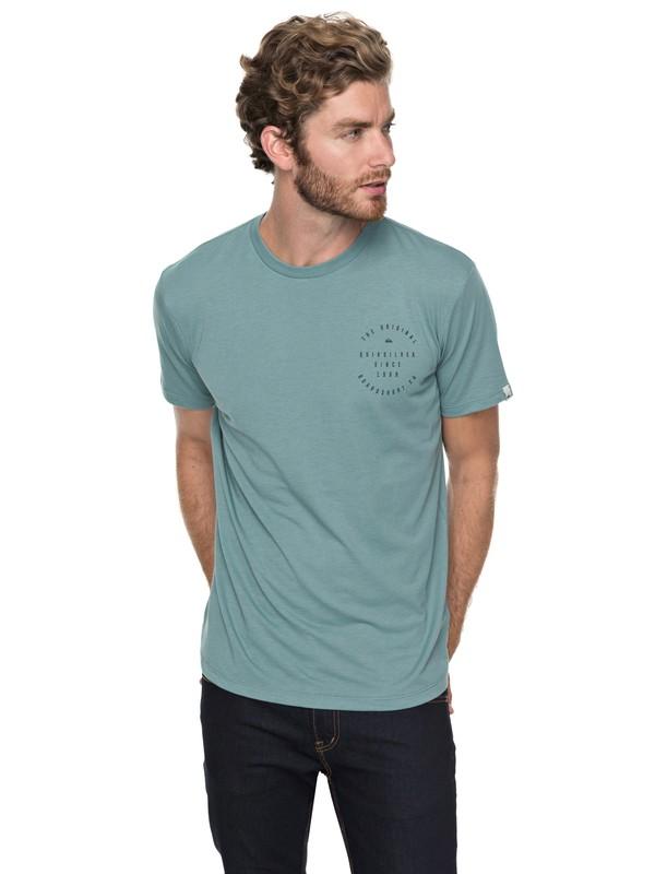 0 Dome Speak - T shirt de sport Bleu EQYZT04747 Quiksilver