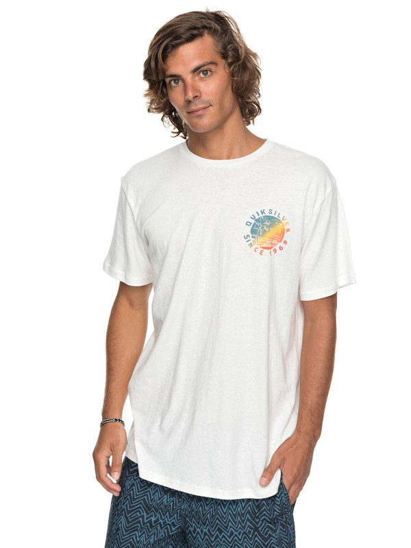 0 Rocky Rights Tee White EQYZT04766 Quiksilver