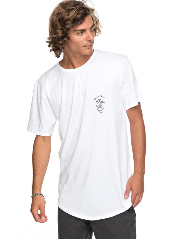 0 Scallop Board Fusion Tee White EQYZT04768 Quiksilver