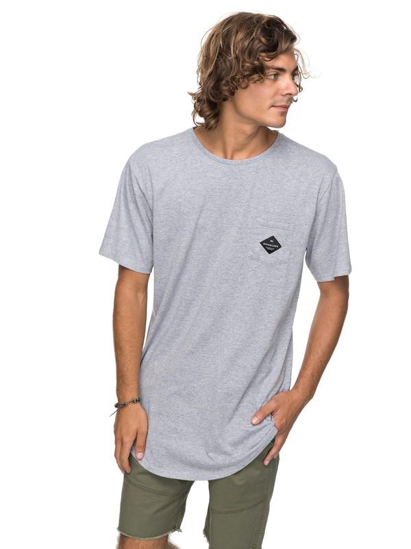 0 Scallop Loves - T shirt avec poche  EQYZT04769 Quiksilver