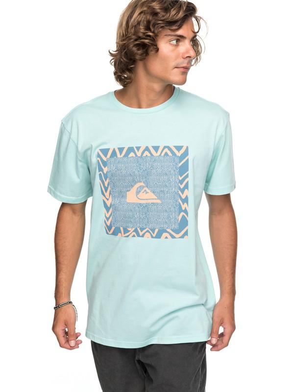 0 Classic Nano Spano - T Shirt col rond Bleu EQYZT04775 Quiksilver