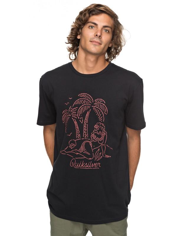 0 Classic Sayin - T-Shirt Black EQYZT04776 Quiksilver