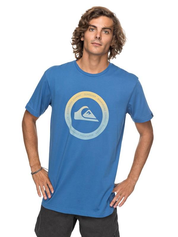 0 Classic Kahu - T Shirt col rond Bleu EQYZT04782 Quiksilver