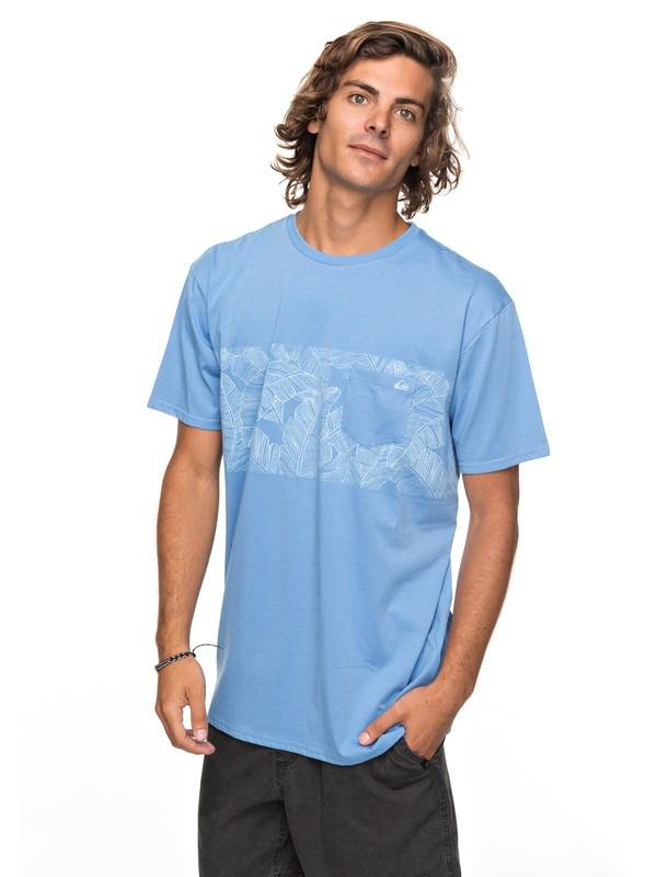 0 Mantra Right - T shirt avec poche Bleu EQYZT04790 Quiksilver