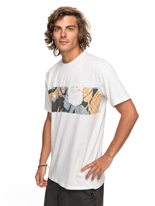 0 City Vibes - T-Shirt White EQYZT04791 Quiksilver