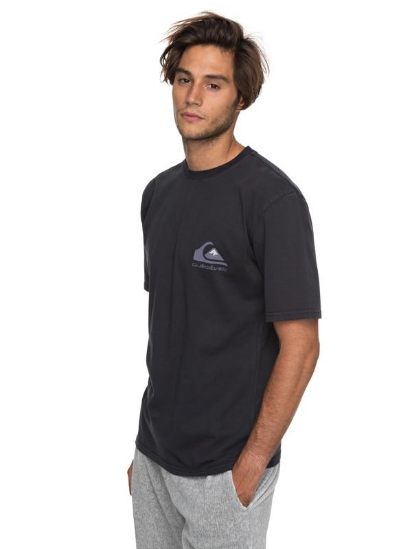 0 Omni Original - T Shirt col rond Noir EQYZT04814 Quiksilver