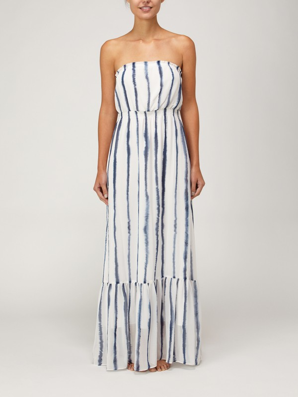 0 Indigo Splash Maxi Dress  G06165 Quiksilver