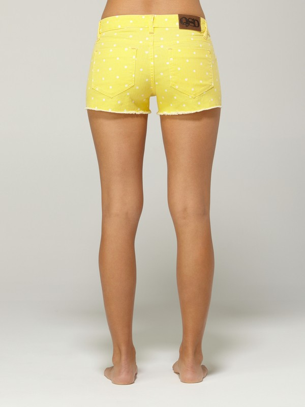 0 Lamrocks Yellow Swan Shorts  G11106 Quiksilver