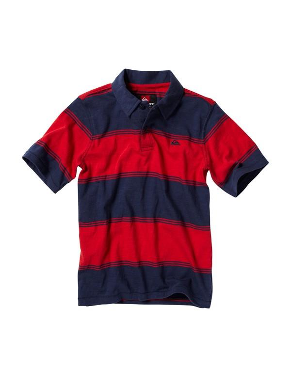 0 Boys 2-7 Big Cheese Polo Shirt  K208590 Quiksilver