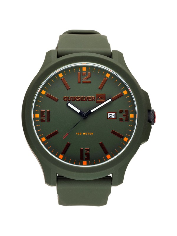 0 Beluka Silicone Watch  M154BS Quiksilver