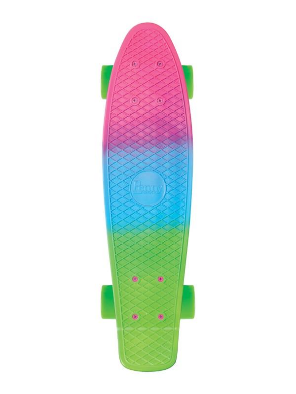 0 Penny Fade Skateboard Blue PNYFADE Quiksilver