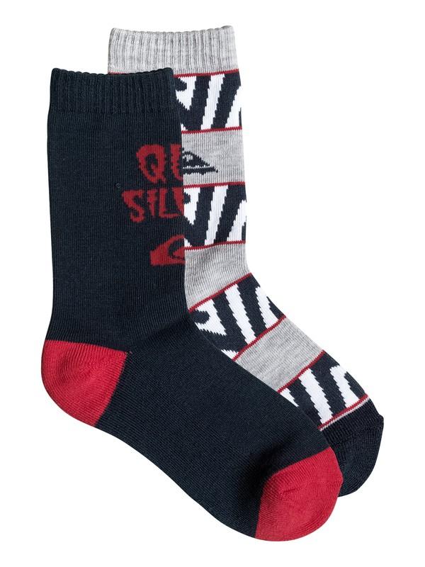 0 Mountain - Pack de 2 - chaussettes  PS083707D Quiksilver