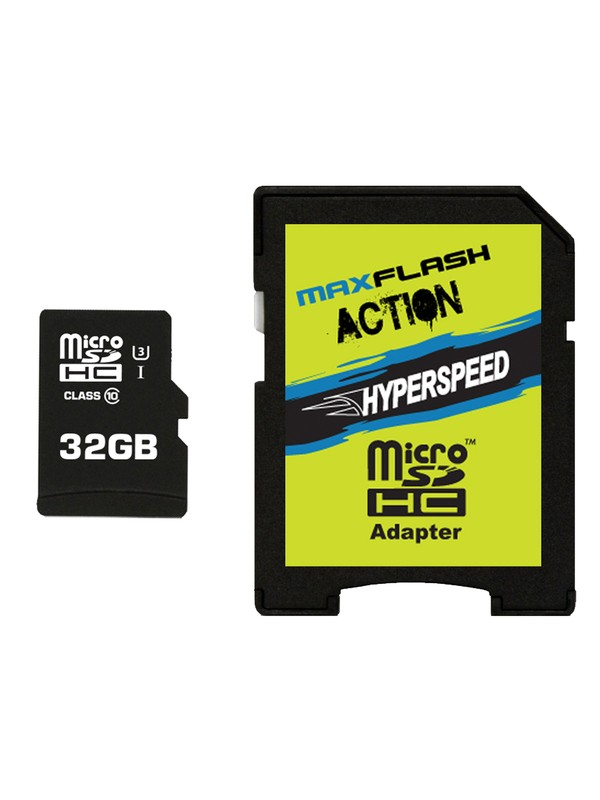 0 MaxFlash Action Hyperspeed 32GB MicroSD Card  SD32HYP DC Shoes