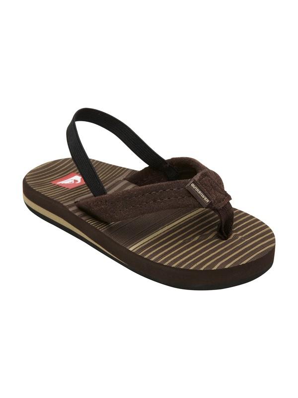 0 Toddler Carver Suede 2 Sandals  T257054 Quiksilver