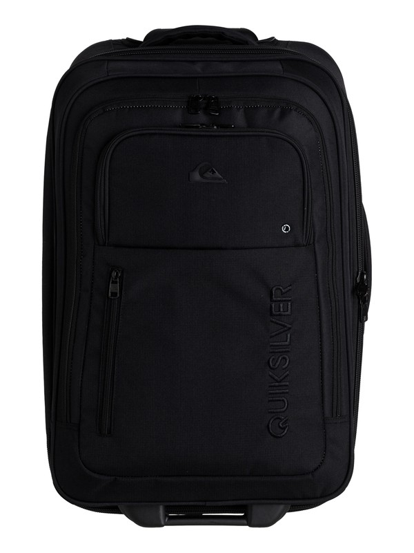 "0 Round Trip 25"" Wheelie Suitcase Black TPQS12005 Quiksilver"