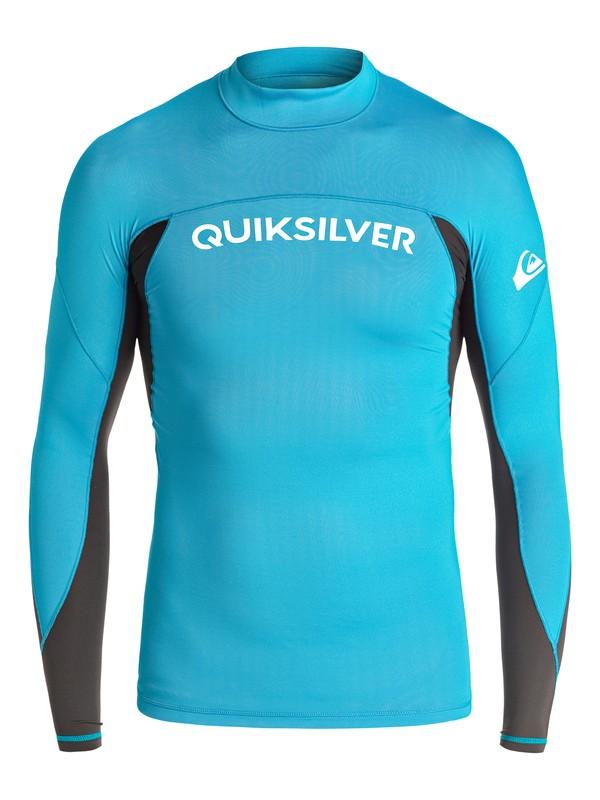 0 Performer - Lycra à manches longues Bleu UQBWR03034 Quiksilver