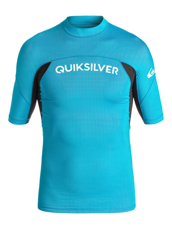 0 Performer - Lycra à manches courtes Bleu UQBWR03035 Quiksilver