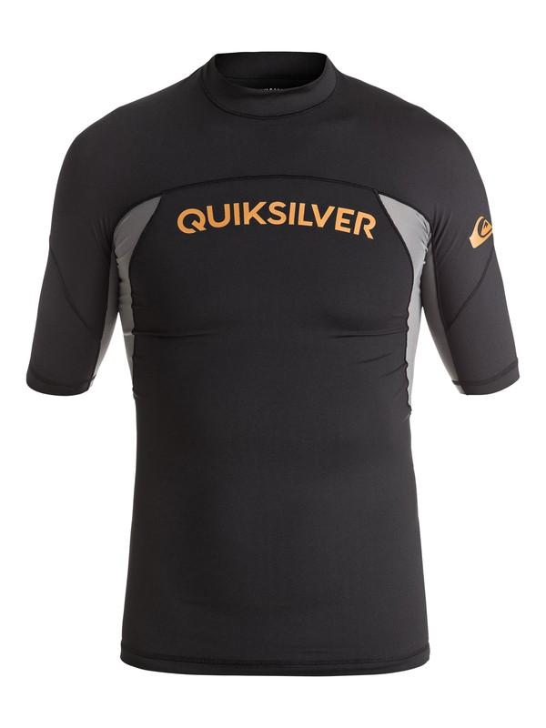 0 Boy's 8-16 Performer Short Sleeve Rashguard  UQBWR03035 Quiksilver