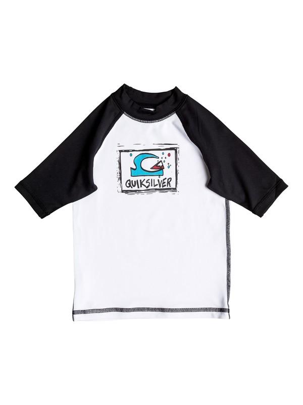 0 Bubble Dream - Short Sleeve Rash Vest  UQKWR03031 Quiksilver