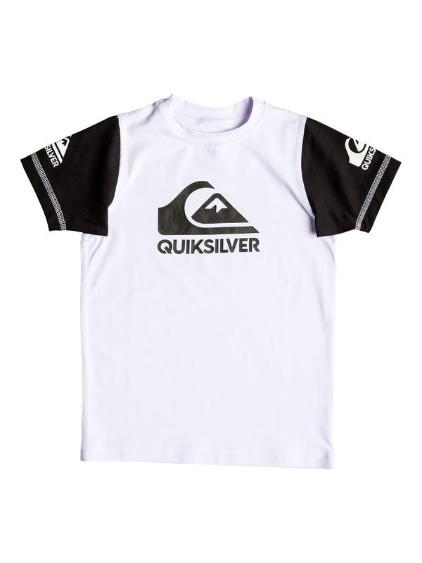 0 Boy's 2-7 Heats On Short Sleeve Rashguard  UQKWR03038 Quiksilver