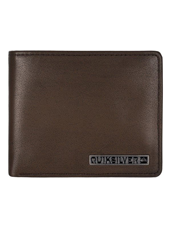 0 Mack Daddy Leather Wallet Brown UQYAA03019 Quiksilver