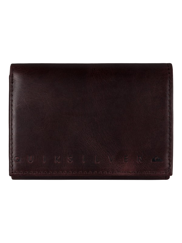 0 Trifecta Leather Wallet  UQYAA03027 Quiksilver