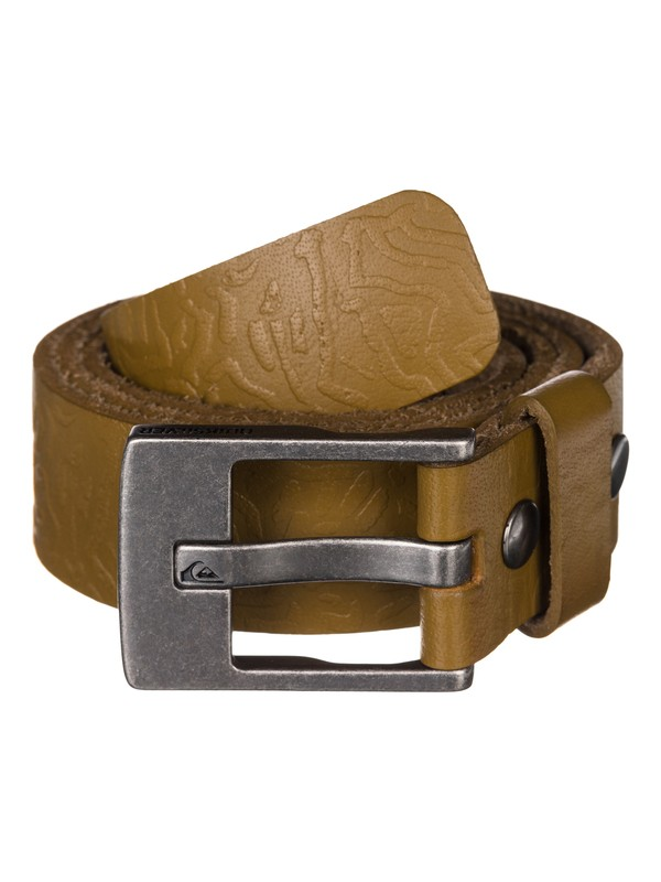0 Warpalm Leather Belt  UQYAA03139 Quiksilver