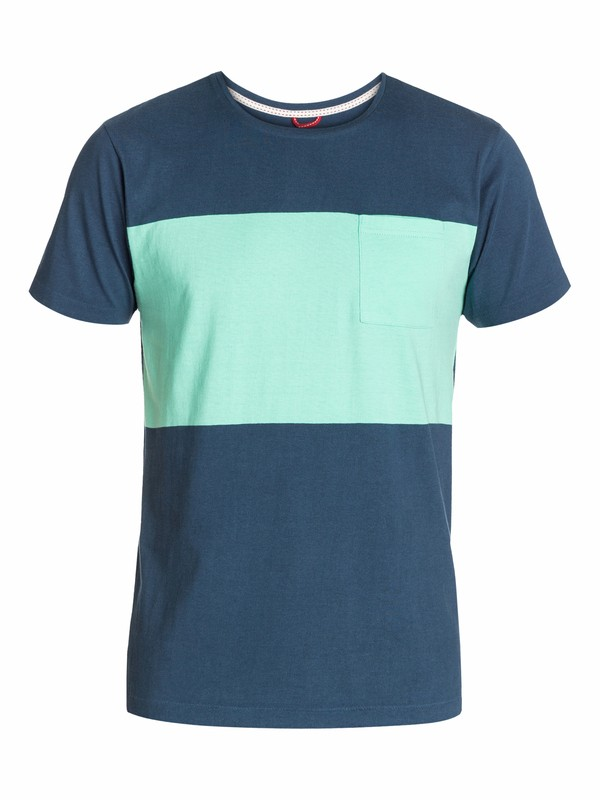 0 Block Stripe Modern Fit T-Shirt  UQYZT03089 Quiksilver
