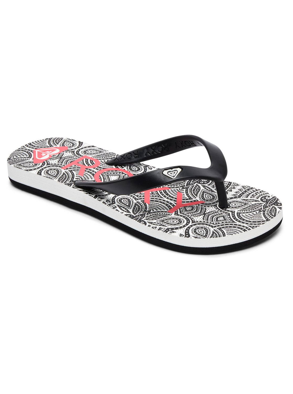 01f23759c6d 0 Tahiti VI - Tongs Noir ARGL100181 Roxy