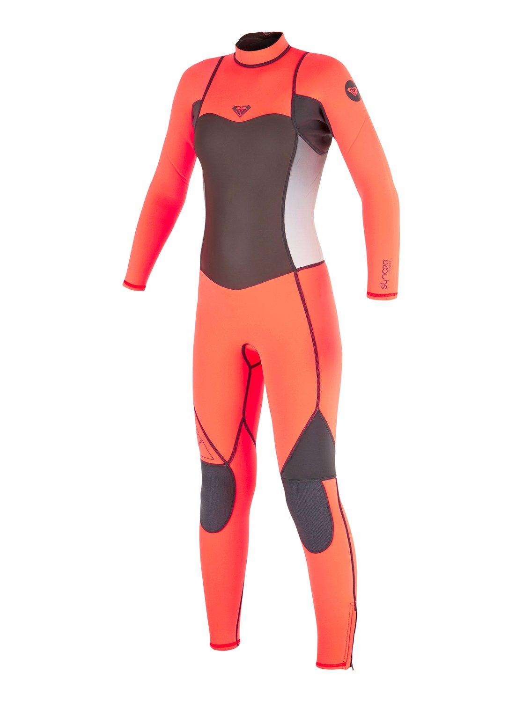 Для девочек (7-14 лет) Syncro Flatlock 3/2mm Back Zip Wetsuit
