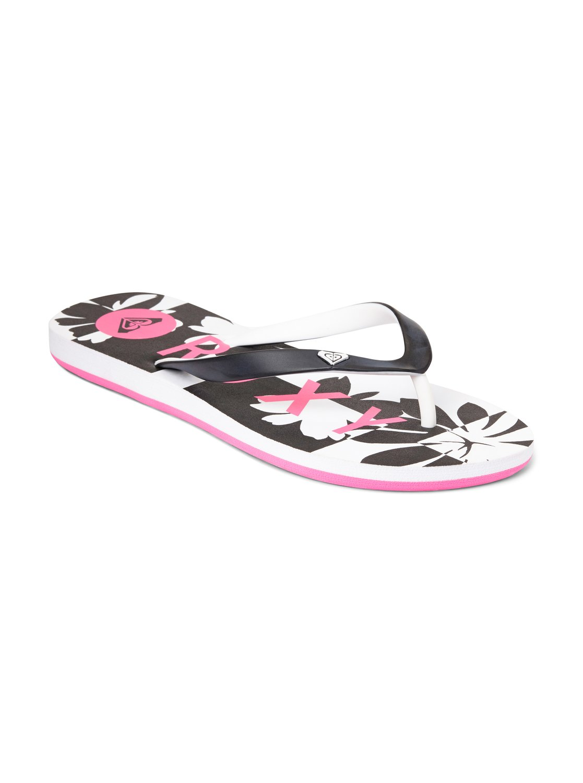 Womens Roxy Women's Tahiti V Sandal Flip Flop For Sales Size 36