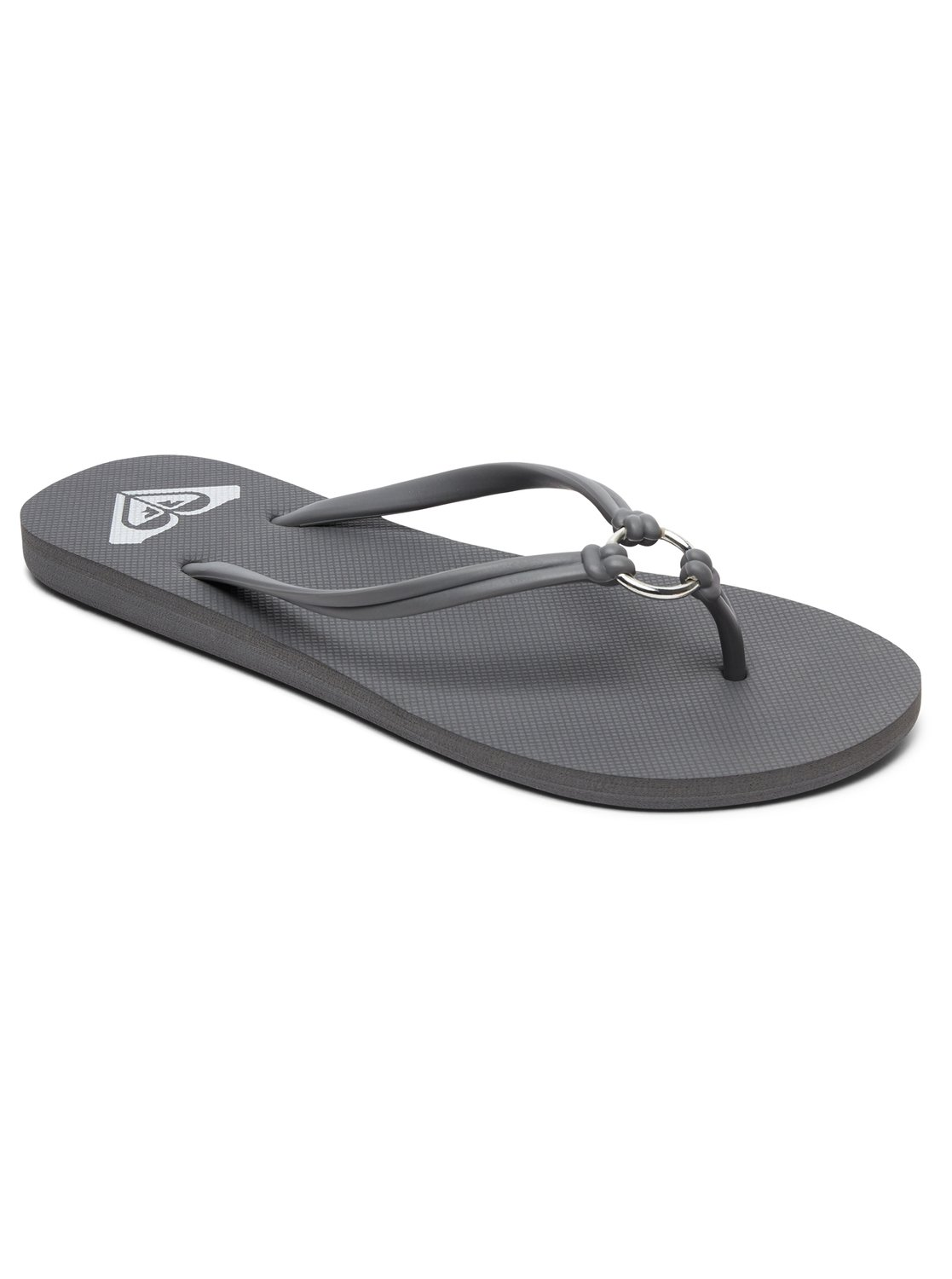 Roxy Sandalen »Solis«, grau, DARK GREY