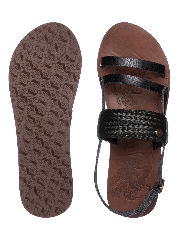 Black roxy sandals - 2 Elias Sandals Arjl200245 Roxy