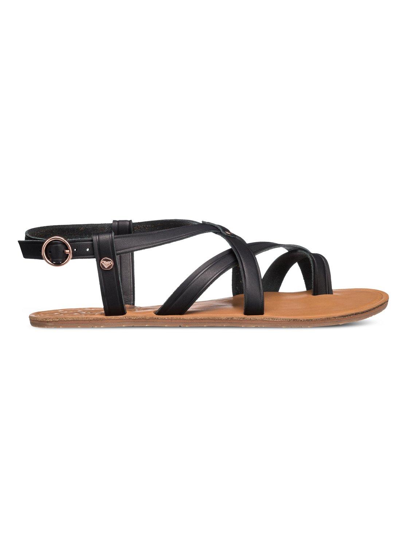Black roxy sandals - 1 Sevilla Sandals Arjl200252 Roxy
