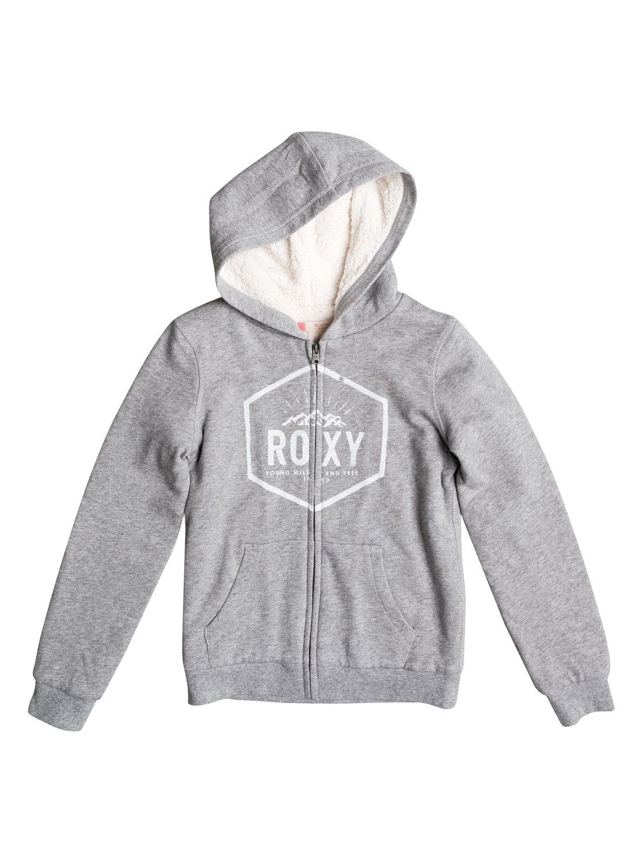 Memorize Density - Sudadera con capucha y cremallera para Chicas Roxy