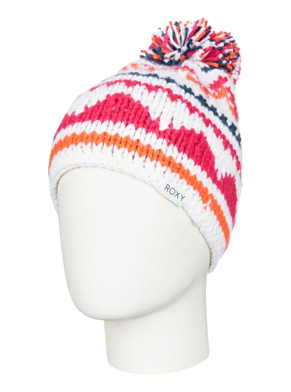 DjuniШапка-beanie Djuni для девочек из сноубордической коллекции Roxy. ХАРАКТЕРИСТИКИ: подкладка из флиса Polar. СОСТАВ: 100% акрил.<br>