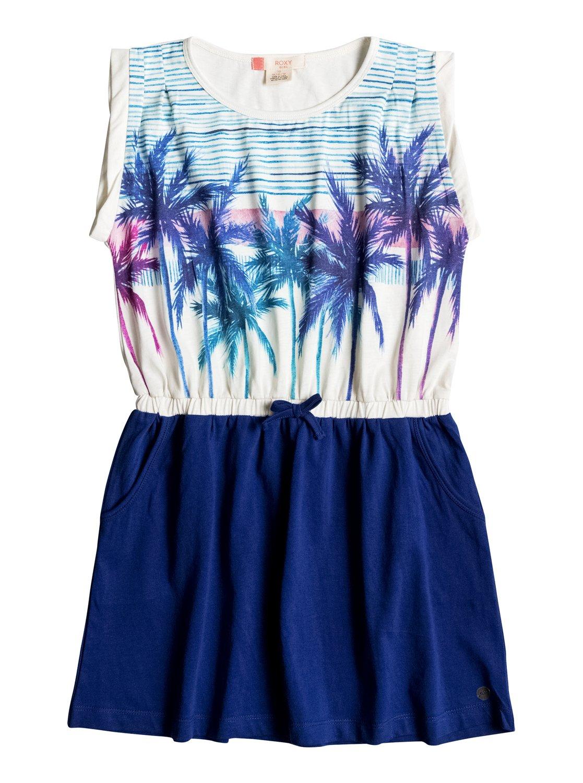 Двухцветное платье Presidio Palm