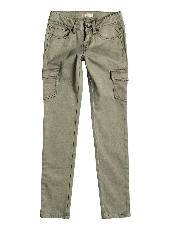 Штаны карго CecilcargoКлассические штаны карго в этом сезоне представлены в нашей коллекции одежды в выгодно подчеркивающем фигуру узком крое. Они сшиты из мягкого эластичного сатина и отличаются приятным зеленоватым цветом, благодаря чему станут универсальным предметом вашего гардероба.<br>