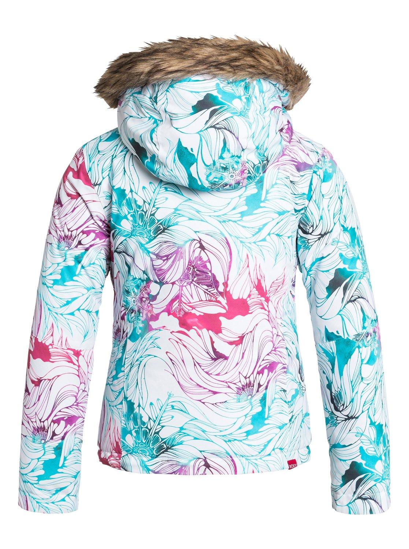 roxy jet ski veste de snow fille ergtj03000 ebay. Black Bedroom Furniture Sets. Home Design Ideas