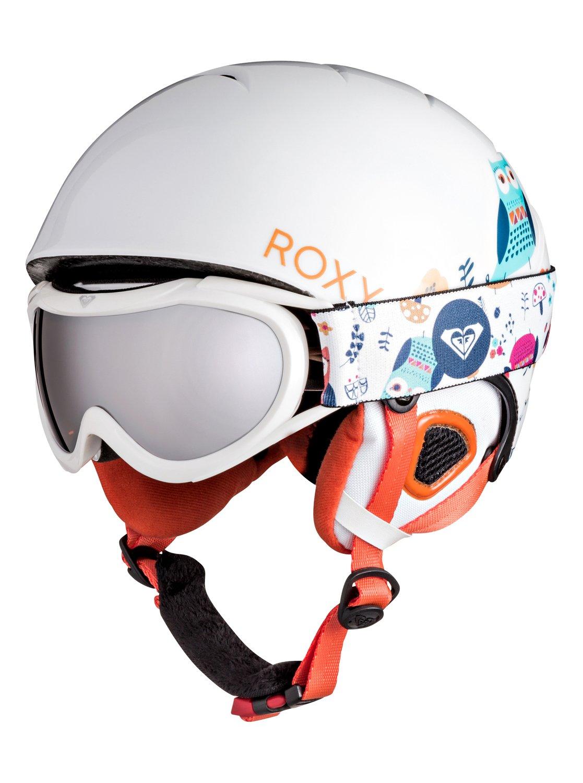 Сноубордические шлем и маска Misty от Roxy RU